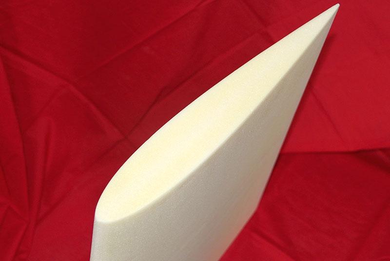 无人机侧翼板PMI雕刻件