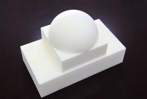 透波半球型PMI雕刻件